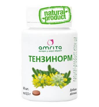 Тензинорм, 60 табл. по 500 мг