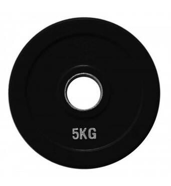 RCP18 - 5 кг Alex Диск олимпийский обрезиненный чёрный