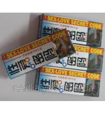 """Препарат для посилення потенції """"SEX - LOVE SECRET"""" (6 шт.) ."""