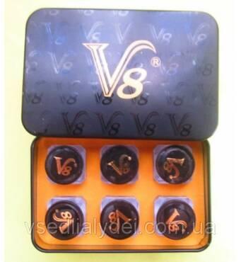 Капсули Viagra V 8 Віагра V 8 препарат для супер потенції 6 пляшечок в упаковці по 3 капсули в пляшечці