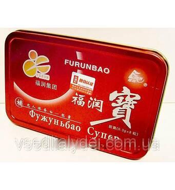 Фужуньбао красный препарат для повышения потенции 8 капсул упаковка