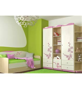 Мебель Орхидея в детскую, подростковую комнату девочки