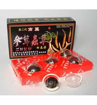 """Китайські кульки"""" Хуэй Чжун Даний"""" препарат для підвищення потенції 5 кульок в  упаковці"""