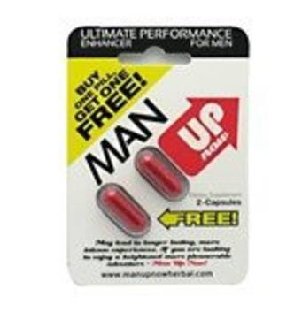 Мін Ап препарат для  найсильнішої потенції 2 капсули упаковка