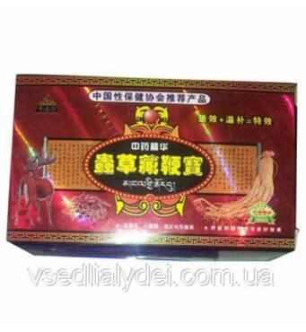 Засіб для найсильнішої потенції BIAN BAO 8 капсул 8 кульок упаковка
