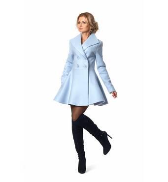 Стильное женское пальто 397