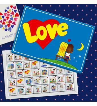 """Шоколадний набір великої """"LOVE""""."""