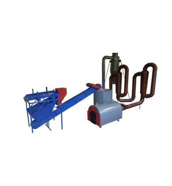 Сушильный комплекс аэродинамический производительностью 300-500 кг/час.