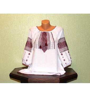 Жіноча сорочка вишиванка ручної роботи