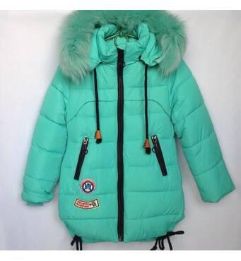 Куртка дитяча зимова оптом 116-140