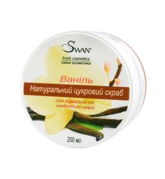 """Натуральный цукровиий скраб """"Ваниль"""" (для нормальной, комбинированной кожи), 250 мл"""