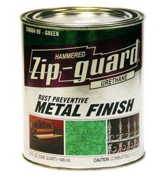 Краска Zip Guard молотковая черная 0,946л.