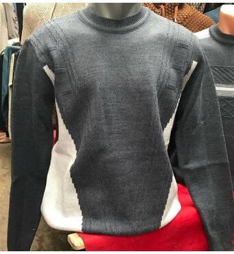 Мужской шерстяной свитер  Турция