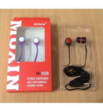 Навушники вакуумні Moxin М-029