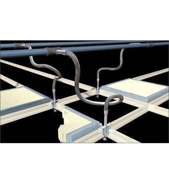 Гофровані труби з нержавіючої сталі для систем пожежогасіння, 700 мм