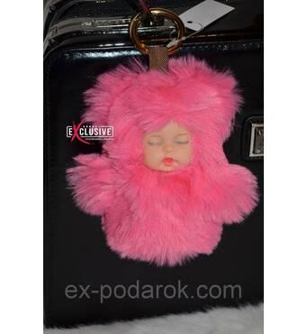 Розовый брелок-пупс!