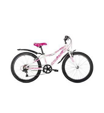 """Велосипед 24"""" Avanti ASTRA рама-12"""" білий з рожевим"""