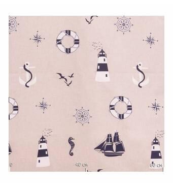 Тканина для штор тематика моря
