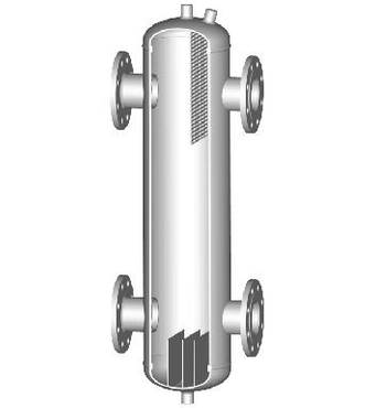 Гідравлічні стрілки HSF 250/650/180 з фланцевим підключенням