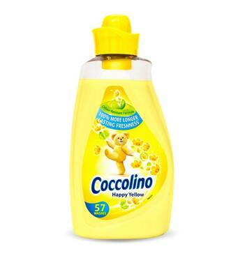 Кондиціонер-ополіскувач Coccolino Happy Yellow, 1,8 л (57 пр)