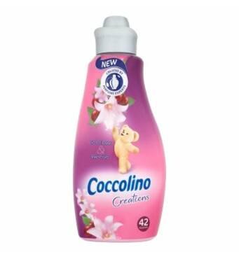 Кондиционер-ополаскиватель Coccolino Tiare Flower & Red Fruits, парфюмированный, 1.5 л (42 пр)