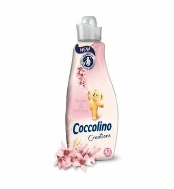 Кондиционер-ополаскиватель Coccolino Tuberose & Vanilla Flower, парфюмированный, 1.5 л (42 пр)