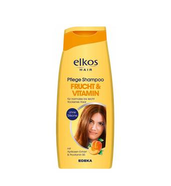 Женский шампунь Elkos Vitamin & Fruch 500 мл