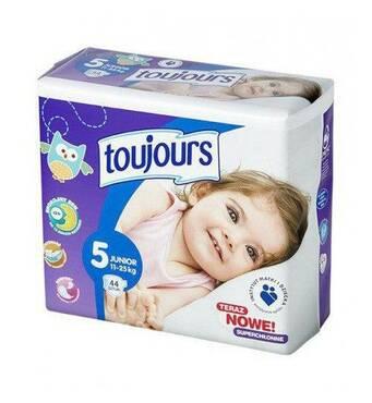 Подгузники Toujours 5 (11-25 кг) 44 шт