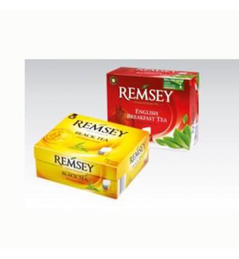 Чай Remsey в пакетах, 75 шт., Польша