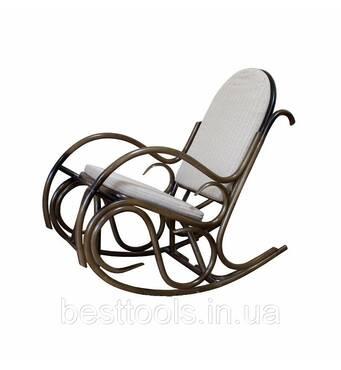 Кресло-качалка «Бриз» натуральный ротанг