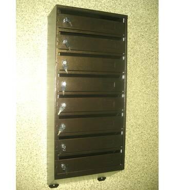 Ящик почтовый многосекционный на 8 квартир