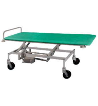 Візок для транспортування пацієнтів з регулюванням висоти, електроприводом і автономним живленням ТПБЕ