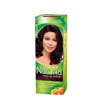 Краска для волос Joanna Naturia 233 gleboki burgund, Польша