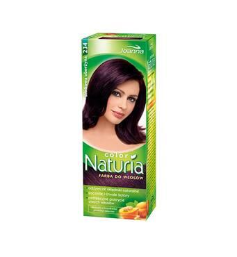 Краска для волос Joanna Naturia 234 slivkova oberzyna, Польша