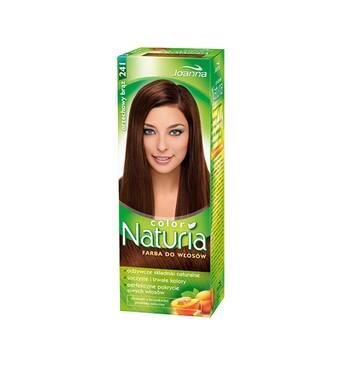 Краска для волос Joanna Naturia 241 orzechovy braz, Польша