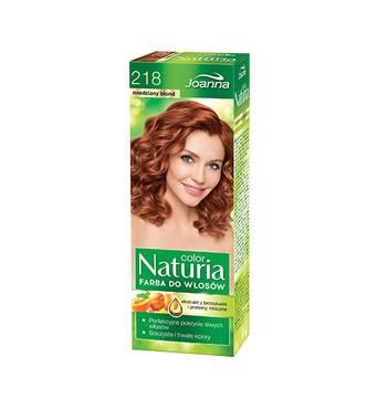 Фарба для волосся Joanna Naturia 218 miedziany blond, Польща