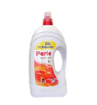 Гель для прання Perle color 5.6 л 94 прань (Німеччина)