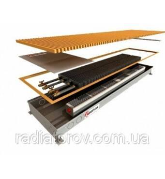 Внутрипольные конвекторы Polvax KV.300.1500.90/120 з вентилятором