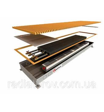 Внутрипольные конвекторы Polvax KE.300.1000.90/120 без вентилятора