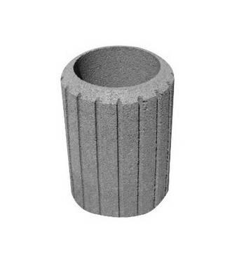 Смітник бетонний сірий