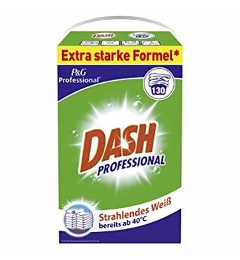 Стиральный порошок DASH универсальный 8,5 кг 130 стирок Германия