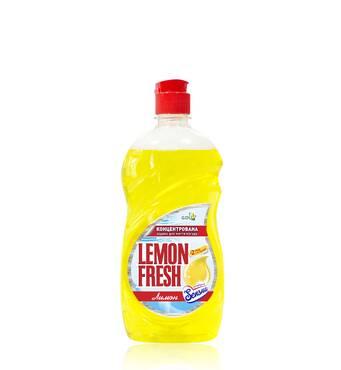 Lemon Fresh - жидкость для мытья посуды - желтый