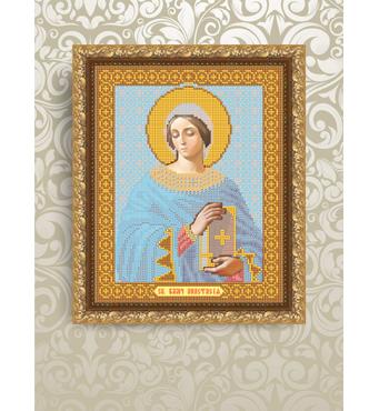 Заготовка для вишивки ікони Святої Анастасії