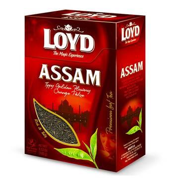 Чай Loyd Assam чорний, крупнолистовий, 80 гр. Польща