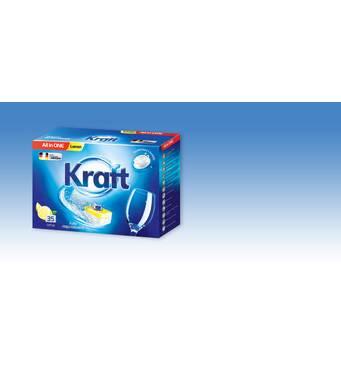 Таблетки для посудомоечных машин Kraft  All in 1, 35шт