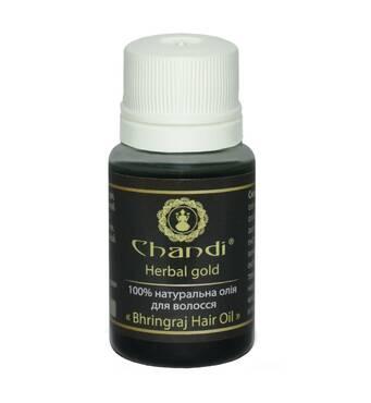 """Натуральное масло для волос """"Брингарадж"""" Chandi, 10мл"""