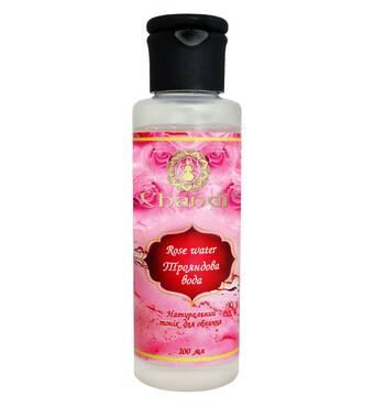 Натуральна трояндова вода (Тонік для обличчя) Chandi, 100мл