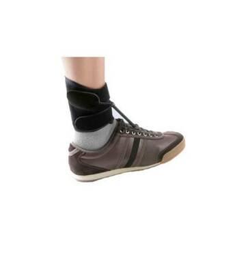 Поддерживающий бандаж при падающей стопе BOXIA с фиксатором для обуви