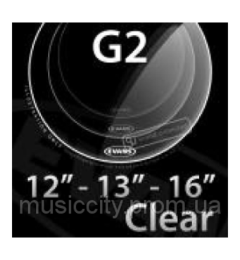 "Evans ETPG2CLR - S Genera G2 набір прозорих пластиків 12"", 13"", 16"""