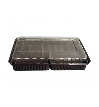 Упаковка для суші ПС-610 (з кришкою) 180 шт. купити в Україні